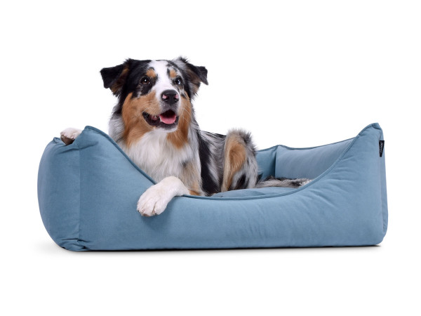 Hundebett Dreamcollection Mikrofaser Line