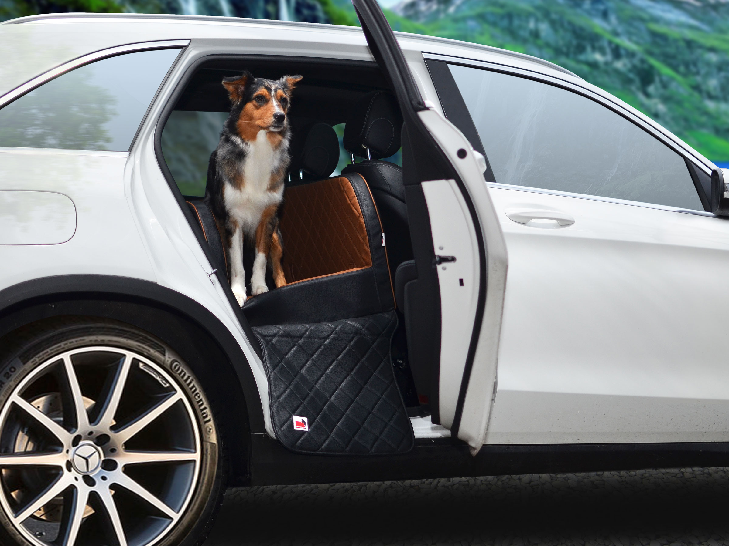 autohundebett travelmat rücksitz select plus
