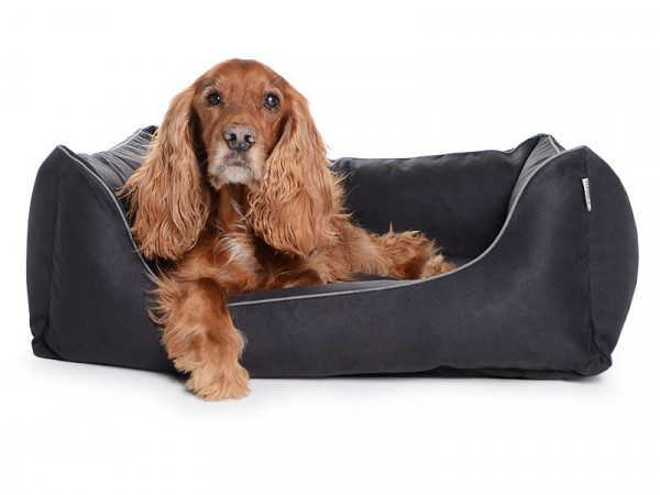 Hundebett Worldcollection Wildlederimitat