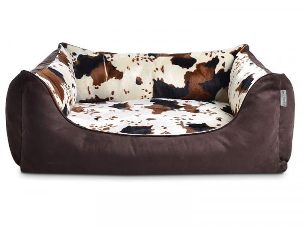 Hundebett Edition Tierfellmuster
