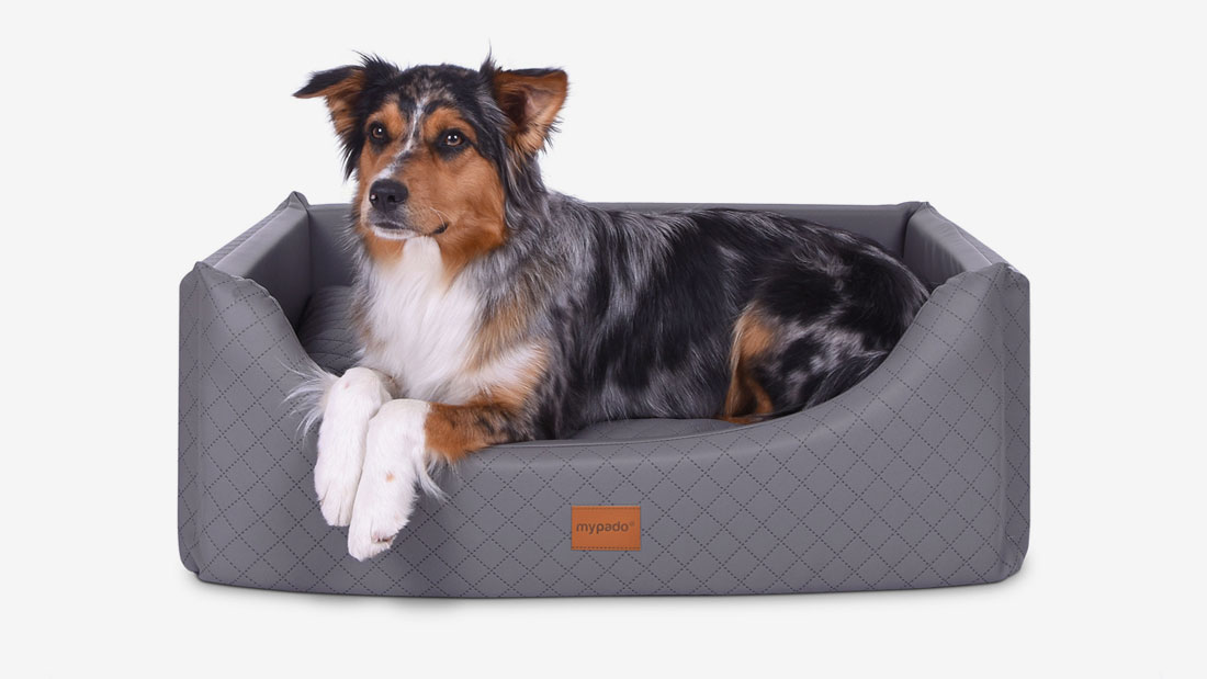 Hundebett Alma Kunstleder luxury